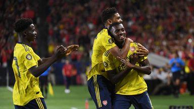 Arsenal 2-1 Bayern Munich