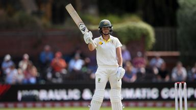 Women's Ashes Test: Day 1 highlights