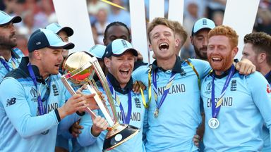 Highlights: England win World Cup