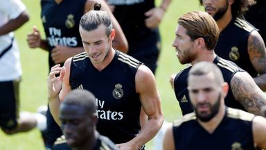Bale mocked with golf swing