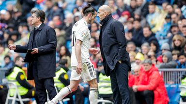Zidane: No golf ban for Bale