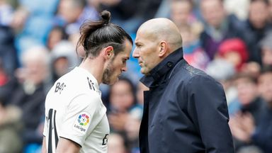 Zidane: Bale wasn't fit to play