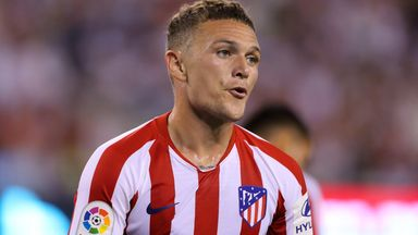 Trippier settling in at Atletico