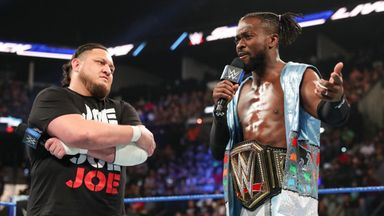 Who will face Kofi Kingston?