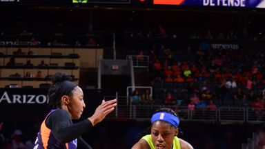 WNBA: Wings 64-69 Mercury