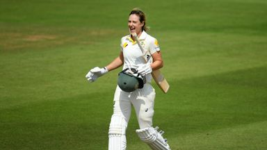 Women's Ashes Test: Day 2 highlights