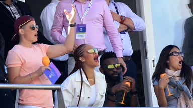 Rihanna hits Durham for six at World Cup