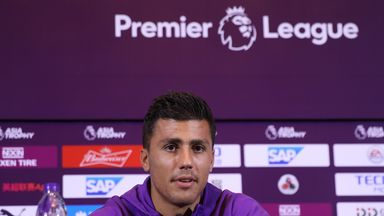 Rodri: Lucky to learn from incredible Pep