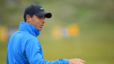 McIlroy trying to stay relaxed