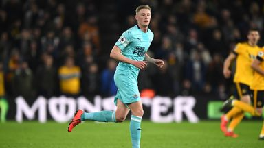 'Longstaff suffers ankle injury'
