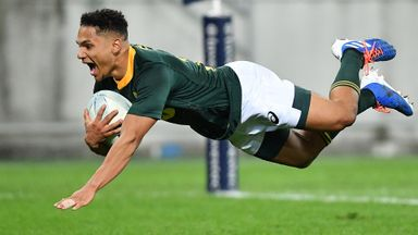 New Zealand 16-16 South Africa