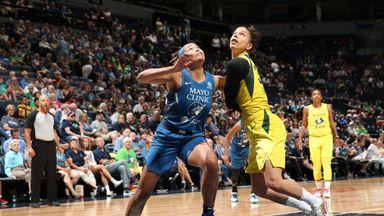 WNBA: Storm 90-79 Lynx