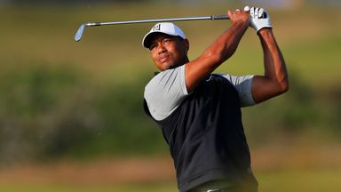 Woods talks up Open chances