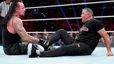Undertaker terrorises Shane O'Mac