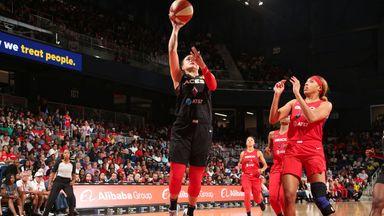 WNBA: Aces 85-81 Mystics