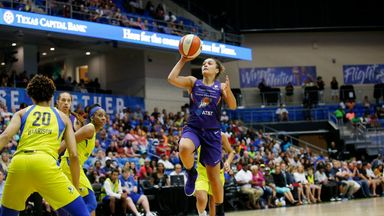 WNBA: Mercury 70-66 Wings