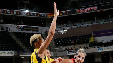 WNBA: Mystics 95-88 Fever