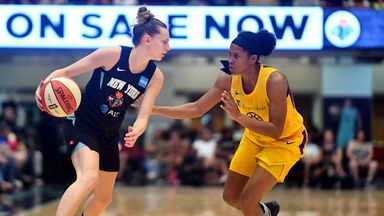 WNBA: Sparks 78-83 Liberty