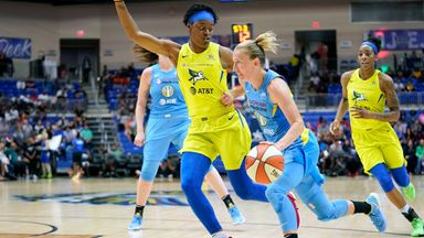 WNBA: Sky 89-79 Wings