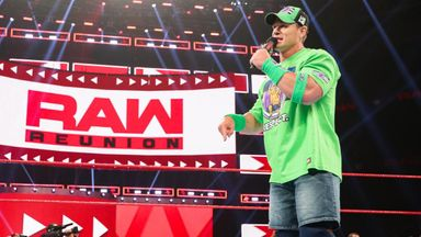 John Cena returns to kick off Raw Reunion