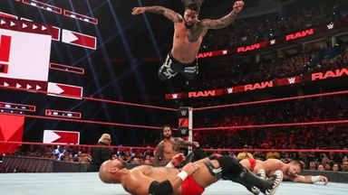 The Usos clash against The Revival