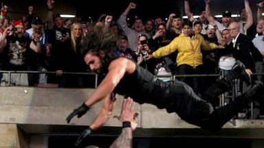 Seth Rollins' Extreme Dive!