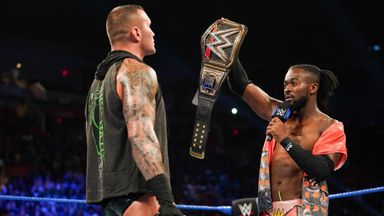 Kofi Kingston challenges Randy Orton for SummerSlam
