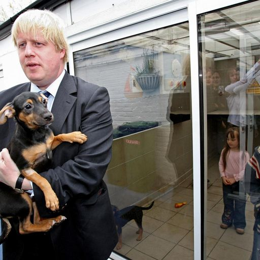 Boris Johnson discusses getting a pet dog with Number 10 staff