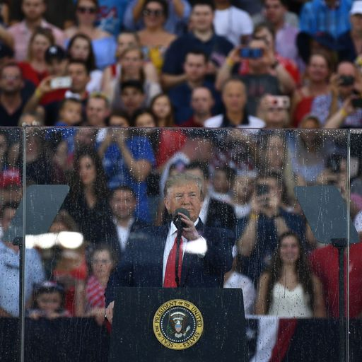 Fourth of July: Donald Trump's 'Salute to America' or a 'show of farce'?