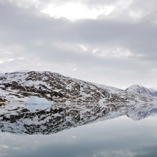 Ice melting rapidly as heatwave hits Greenland
