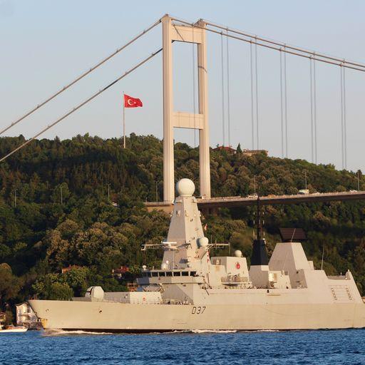 Size of Royal Navy's warship fleet is 'pathetic'