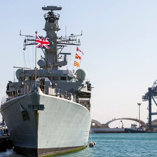 How the Royal Navy is protecting ships in the Gulf
