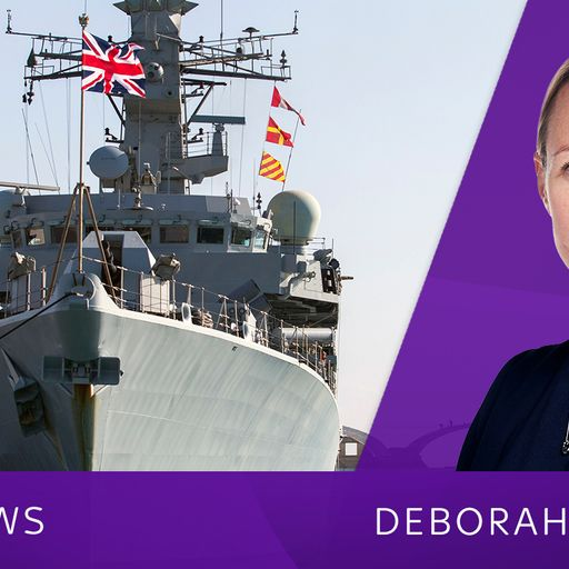 Sky Views: Other nations must help UK secure key waterway amid Iran threat