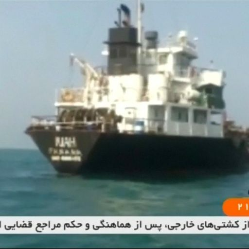 US warship destroys Iranian drone in Strait of Hormuz