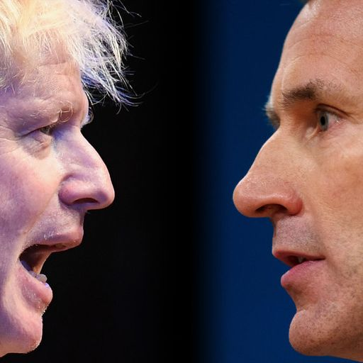 Tory leadership quiz: Are you Team Johnson or Team Hunt?