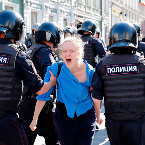 Can Vladimir Putin snuff out Russia's summer of protest?