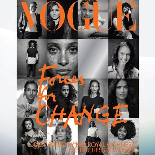 'Forces For Change': Meghan picks 15 women for British Vogue cover
