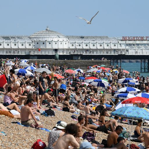 Live: UK braced for hottest day ever