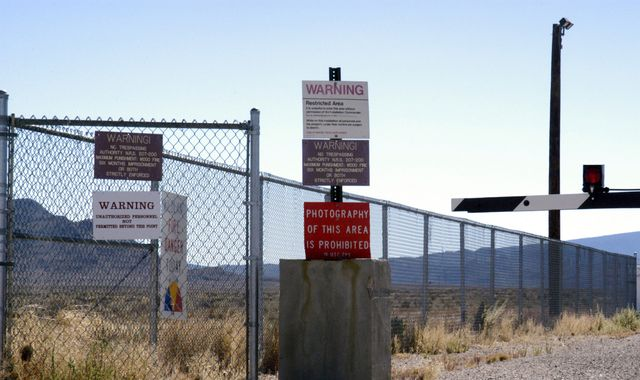 'We stand ready': US air force warns against 'raid' on Area 51