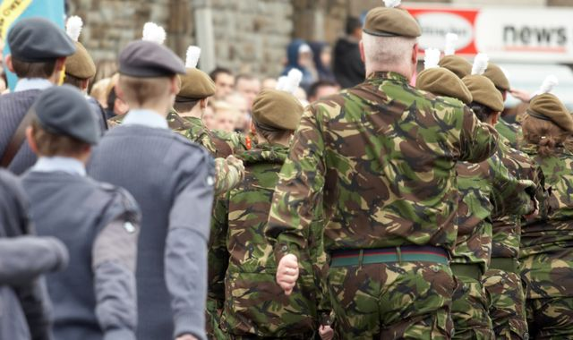 Military chiefs are 'pack of middle-aged white men', says report