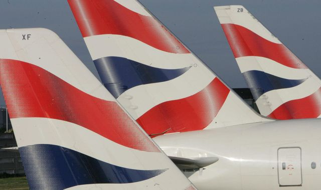 British Airways sends thousands of emails cancelling flights due to strikes