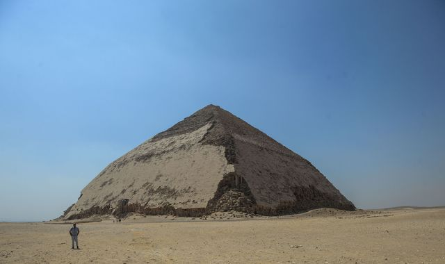 Egypt reopens Bent Pyramid to public for first time since 1965