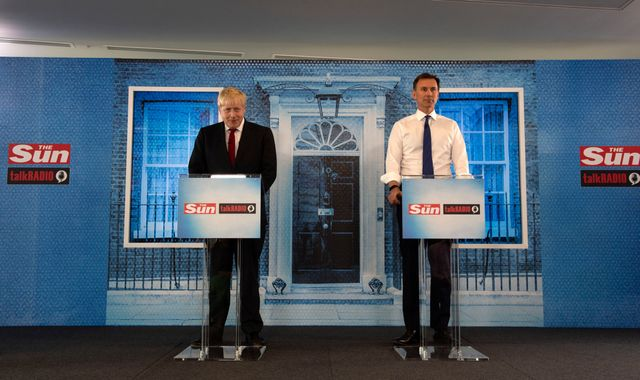 Hunt and Johnson criticise Trump remarks but decline to call them racist