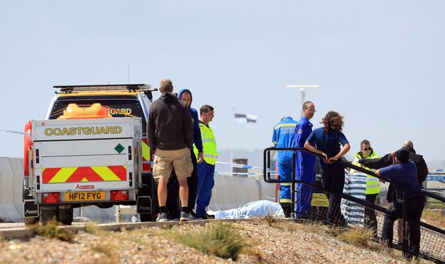 Man dies after falling onto wall at Camber Sands beach
