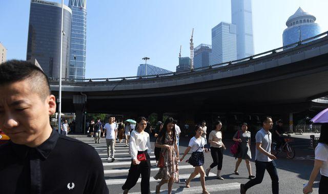 Trade war damage as China growth slows to 27-year low