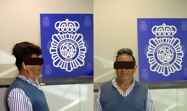 Passenger caught at airport with cocaine worth £27k under his wig