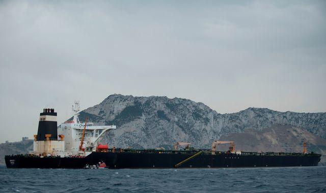 Iran tells UK it wants to resolve crisis over supertanker seized off Gibraltar