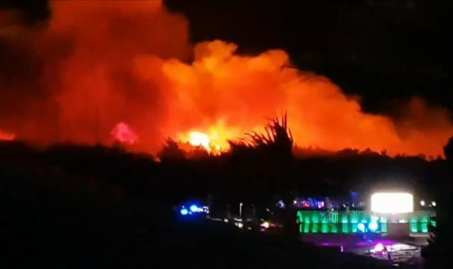 Fresh Island festival fire: Britons among thousands caught up in Croatia blaze