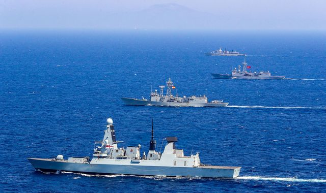 UK sends second warship to Gulf after Iran threats over tanker seized off Gibraltar