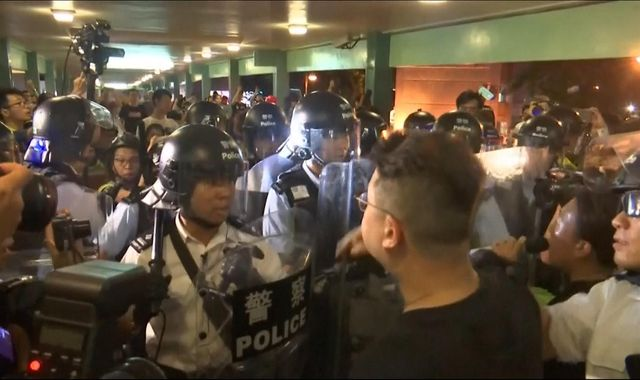 Hong Kong protests: Powerful homemade explosives found ahead of fresh rallies
